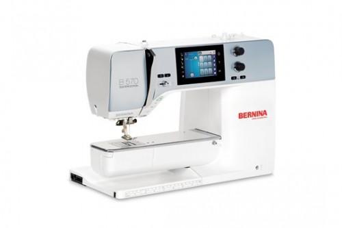 Foto BERNINA 570 QE naai-, borduur- en quiltmachine