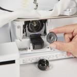 Foto Voorlader met Jumbo-spoel voor gemakkelijk inrijgen
